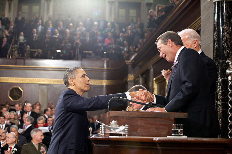 Obama Boehner State of the Union 2011 Another Reason (Of Many) That RINO Hacks John Boehner And Eric Cantor Need To Go