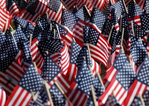 American Flags 300x214 40 Signs That We Have Seriously Messed Up The Next Generation Of Americans