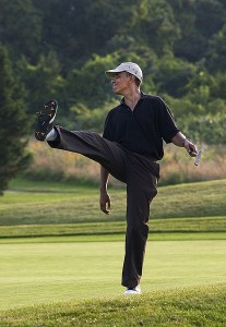 Barack Obama Playing Another Round Of Golf