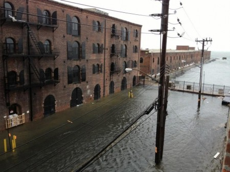 Hurricane Sandy Photo by Nick Cope on Twitter 450x337 11 Horrifying Photos Of The Devastation Caused By Hurricane Sandy