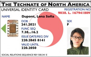 Global ID Card - Photo by Technocracy Inc.