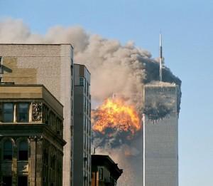 9-11 Flight 175 Hits The World Trade Center