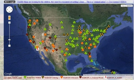 Signs That The West Coast Is Being Absolutely Fried With - Us radiation levels map
