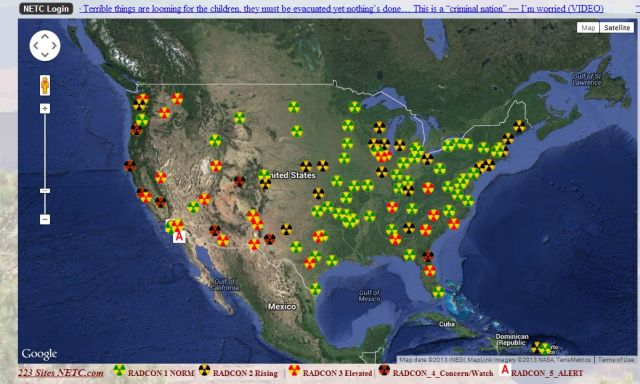 Signs The Media Is Lying To You About How Radiation From - Fukushima radiation 2016 us map