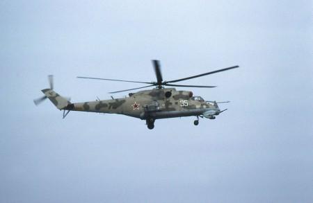 Russian Mi-24 Hind