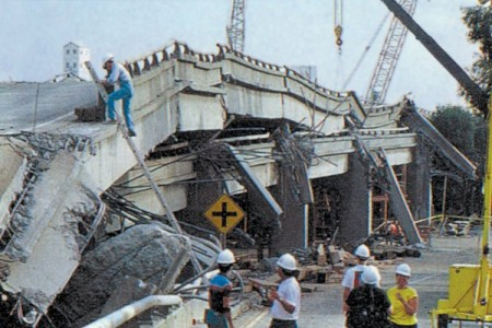 Earthquake Freeway Collapse 450x300 What Will Happen When The Big One Hits California?