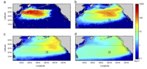 Fukushima Pacific Ocean The Truth - Fukushima radiation 2016 us map