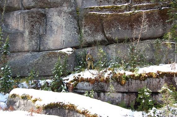 Risultati immagini per giant megalithic Mount Shoria in Siberia