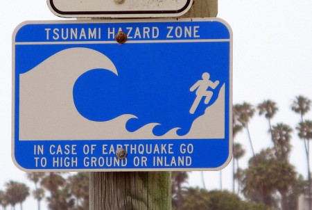 Tsunami Hazard Zone 450x302 What Would Happen If A Giant Tsunami Hit Florida?
