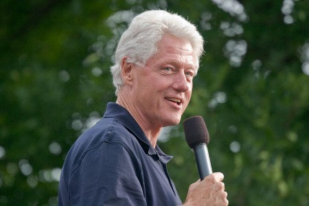 Bill Clinton - Photo by Roger H. Goun