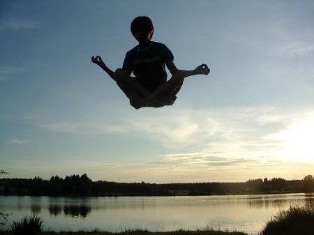 Levitation - Photo by Muu-karhu